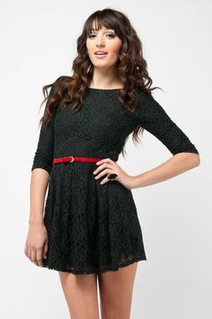 Leaflets Lace Dress!!!
