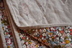 Linen and embroidery - a perfect combination