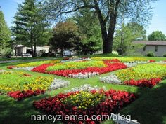 Nancy Zieman Sewing With Nancy Quilt Gardens along the Heritage Trail in Indiana