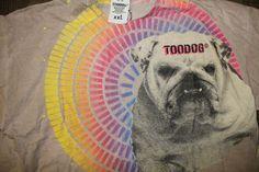T_Shirt - Bulldog Sunshine   Handmade writing