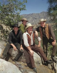 Bonanza?  Sunday nights right after the Ed Sullivan Show.  We had to be extra good to stay up and watch it at 9:00!