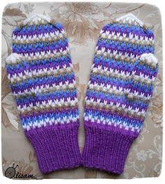 Жаккардовые узоры для варежек спицами (схемы) Gloves, Winter, Winter Time, Winter Fashion