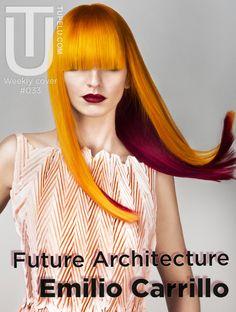 Portada 033, Colección Future Architecture de Emilio Carrillo  http://adictos.tupelu.com/creaciones-de-peluqueria/coleccion-future-architecture-de-emilio-carrillo/12816/