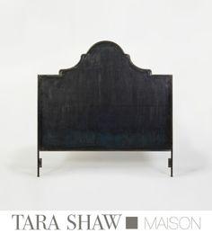 Venetian Iron Headboard...Tara shaw