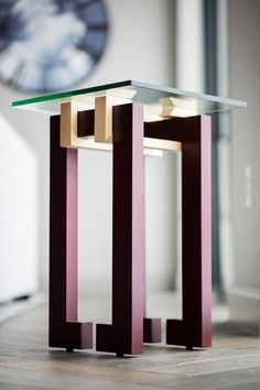 Tea Table Design, Wood Table Design, Unique Furniture, Diy Furniture, Furniture Design, Wood Shop Projects, Furniture Projects, Center Table, Woodworking Furniture