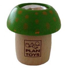 paddestoel kaleidoscope groen | plan toys