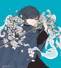 Kimetsu no yaiba//zodiaco// Anime Oc, Anime Angel, Yandere Anime, Anime Demon, Otaku Anime, Manga Anime, Demon Slayer, Slayer Anime, Anime Comics