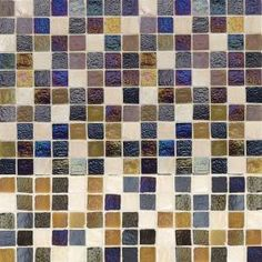 Jeffrey Court Bountiful Cut-Edge 12 in. x 12 in. x 6 mm Glass Slate Mosaic Tile-99207 - The Home Depot