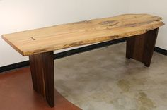 Instructables Oak and Walnut Trestle Table