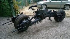 Batman » Batpod electric motorcycle