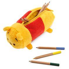 Winnie the Pooh ''Tsum Tsum'' Plush Pencil Case