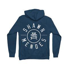 Initial Seal Zip Hoodie // Shawn Mendes