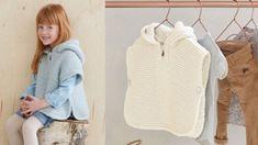 Le poncho tricoté pour enfant : Femme Actuelle Le MAG