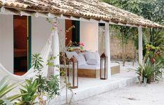 Ideas for house beach architecture bungalows Bungalows, Outdoor Spaces, Outdoor Living, Outdoor Lounge, Casa Hotel, Beach Shack, Beach House Decor, Home Decor, Tropical Houses
