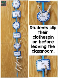 Cue staff with visuals! Everyone needs visuals and reminders, not just students. Here are some ideas on which visuals to use. These ideas are ideal for special education classrooms especially those servicing students with autism and other language based disabilities.