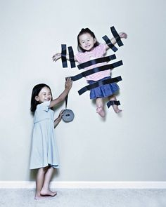 Cute idea for kids photoshoot.... I can see Miss Lillie being alll for this when she becomes a big sis!