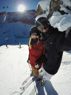 10 Reasons Why You Should Ski With The One You Love! www.TheGearGal.com