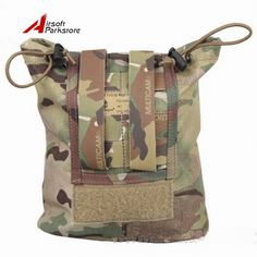 Security & Protection Reliable Magazine Recycling Bags Sundries Nylon Emerson Tactical Drop Pouch Airsoft Military Multicam Camouflage Folding Bag