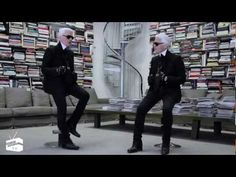 Face to Face ~ Karl Lagerfeld interviewing himself