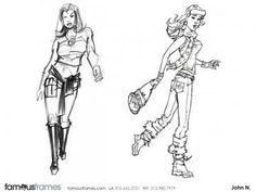 FamousFrames Storyboards, Animatic Artists, Storyboard Artists, John Nelson