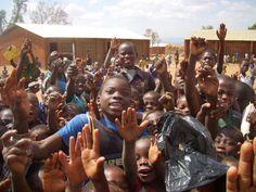 Photo of children in Malawi.