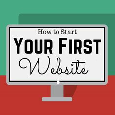 e will take you step by step in how to make your first website. Starting your first website can be an exciting experience and easy to do if you know where to begin. Starting A Business, Business Planning, Business Tips, Online Business, How To Start A Blog, How To Make Money, Web Design, Google Plus, First Website