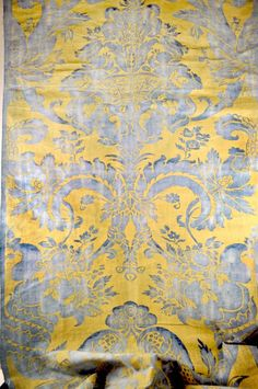 Sale Fortuny fabric vintage 1920s Olympia pattern by HoldTheWire, $3200.00