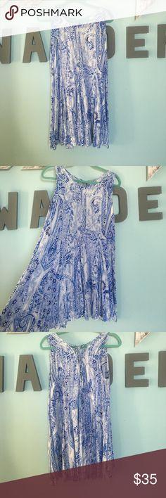 LULU'S DRESS WOEN ONCE! Super cute, great quality Lulus dress!! Lulu's Dresses