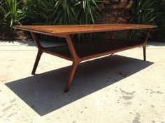 $550 MID CENTURY MODERN WALNUT COFFEE TABLE