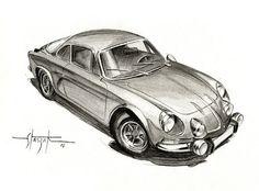 Alpine a110 by Staszak Fabrice