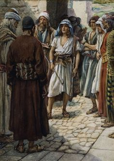 David is called before Samuel | Harold Copping