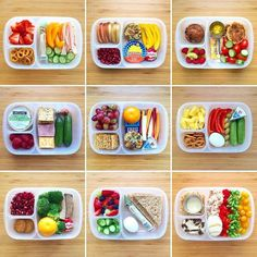 """Perhaps one of these lunches can offer you ideas for the upcoming week. - """"Perhaps one of these lunches can offer you ideas for the upcoming week."""" """"Perhaps one of these lunches can offer you ideas for the upcoming week. Healthy Lunches For Kids, Lunch Snacks, Lunch Recipes, Baby Food Recipes, Kids Meals, Box Lunches, Healthy Recipes For Kids, Kid Snacks, Toddler Meals"""