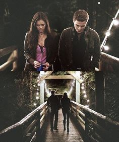 #TVD The Vampire Diaries Elena & Stefan