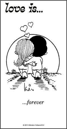 Love Is. all starded as sweet little love notes from Kim Casali to her future husband, Roberto. Real Love, What Is Love, Love Of My Life, True Love, Soulmate Love Quotes, Love Quotes For Him, Love Is Comic, Comics Love, Cute Love Cartoons