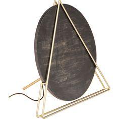 Veioză Kare Design Triangle, negru