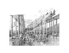Galería de Muelle de Mimbre, un proyecto de rescate patrimonial - 5