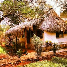 Cabaña fuego en el rancho saludable kaab na en Yucatán