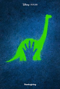 Disney/Pixar's The Good Dinosaur Poster and Teaser Trailer
