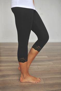 Dottie Couture Boutique - Black Cropped Legging , $8.00 (http://www.dottiecouture.com/black-cropped-legging/)