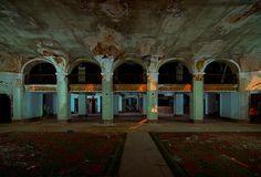 Lobby by Noel Kerns - Lobby of Baker Hotel, Mineral Wells, Texas