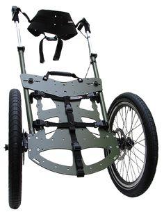 Benapcker backpacking trolley for trekking purposes - Christmas Gift ideas - Fahrrad Trekking Outfit, Trekking Gear, Old Bicycle, Bicycle Bag, Walking Gear, Bike Cart, Velo Cargo, Trek Bikes, Tactical Gear