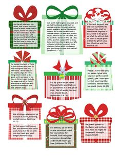 25 Gifts the Savior gave to us. Advent for Christmas!