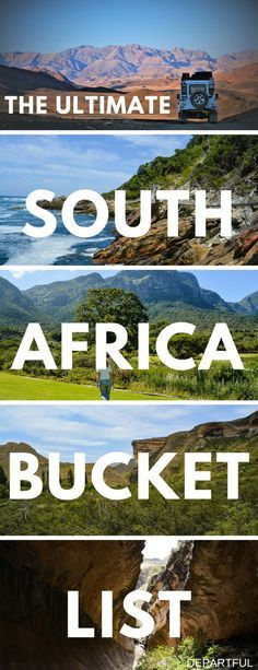 South Africa is such an amazing travel destination! If you're planning a trip, you need our list of top things to do in South Africa, which is best explored on a road trip. The full list includes interesting cities like Cape Town and Joburg, breathtaking nature through South Africa's National Parks, and cultural sites like Nelson Mandela's capture site. You're going to want to make sure you visit them all! #southafrica #traveltips #travelblogger #roadtrip