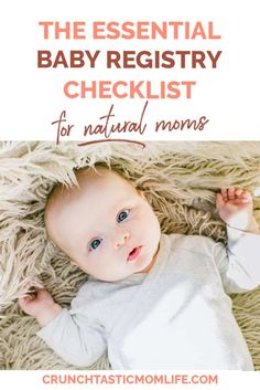 The Essential Baby Registry Checklist for Natural Moms - Crunchtastic Mom Life. The Essential Baby Registry Checklist for Natural Moms – Crunchtastic Mom Life. … The Essential Baby Registry Checklist for Natural Moms – Crunchtastic Mom Life. Baby Registry Essentials, Best Baby Registry, Baby Registry Checklist, Baby Programs, Minimalist Baby, Getting Ready For Baby, Attachment Parenting, Baby Development, Baby Quotes
