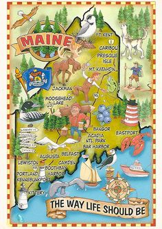 Maine  The way life should be