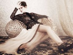 Sophie Hirschfelder by Damian Foxe (Lost In Lace - How To Spend It April 2012)
