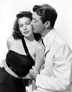 Ava Gardner and Robert Taylor 781×1 000 пикс