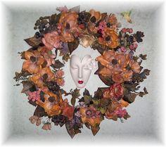 Faces of Love wreath