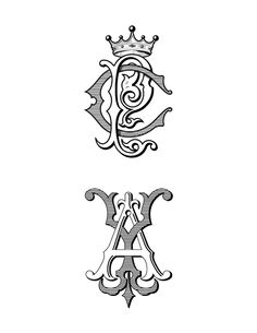 Monogram Designs by Jeff Prime, via Behance