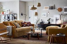 Σαλόνι IKEA με καναπέ FÄRLÖV